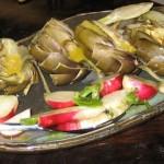 Fresh dinner 5/10 - Artichokes